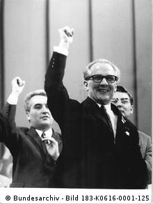 Erich Honecker in 1971