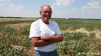 Loren Alderson, out standing his field.Who is the photographer: Frank Morris July 17, 2012