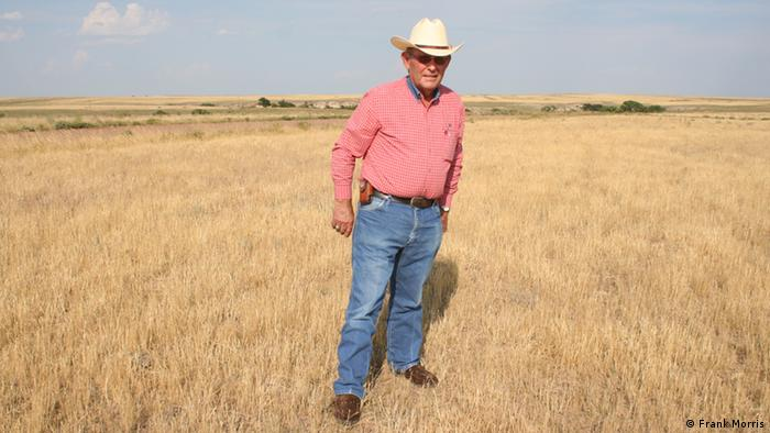 Titel/Title: Nathan Pike on his ranch. Who is the photographer: Frank Morris July 17, 2012