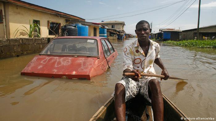 Überschwemmungen in Nigeria (picture-alliance/dpa)
