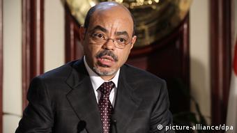 Meles Zeiawi. Picture: EPA/KHALED ELFIQI