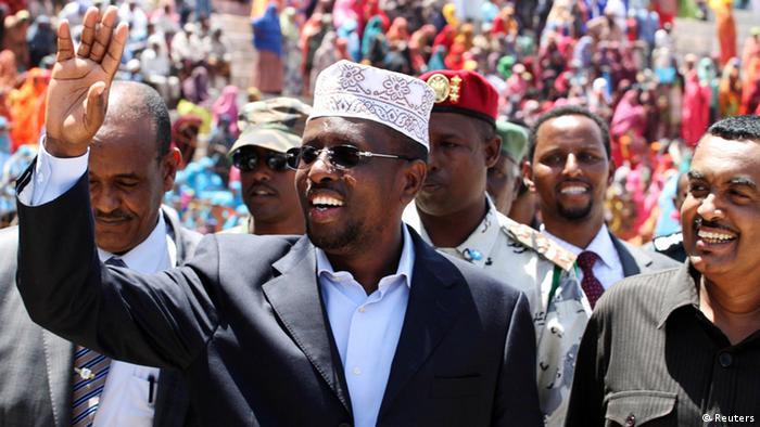 Der frühere Präsident und heutige Oppositionspolitiker Sharif Sheikh Ahmed