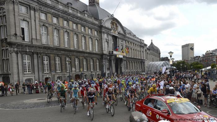 Tour de France Start 2012 Lüttich (Foto: picture alliance)