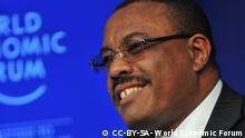 Äthiopien - Premierminister Haile Mariam Desalegne