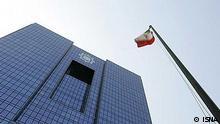 Das Gebäude der iranischen Zentralbank in Teheran, Iran. Quelle: ISNA Lizenzfrei.