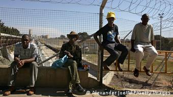 Südafrika Goldminen Streik Archivbild