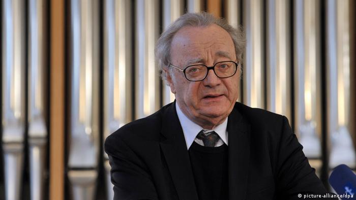 Alfred Brendel in 2011, Copyright: picture-alliance/dpa