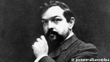 französischer Komponist Claude Debussy