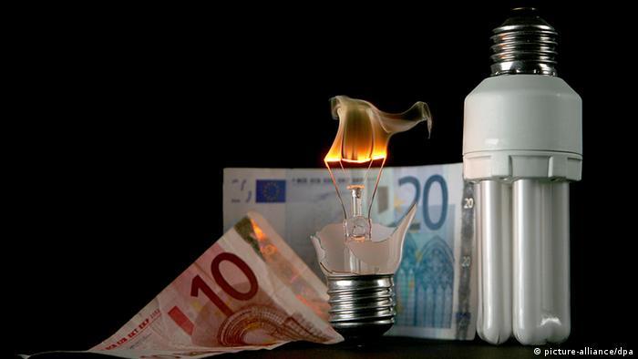 LED Glühlampe Energiesparlampe