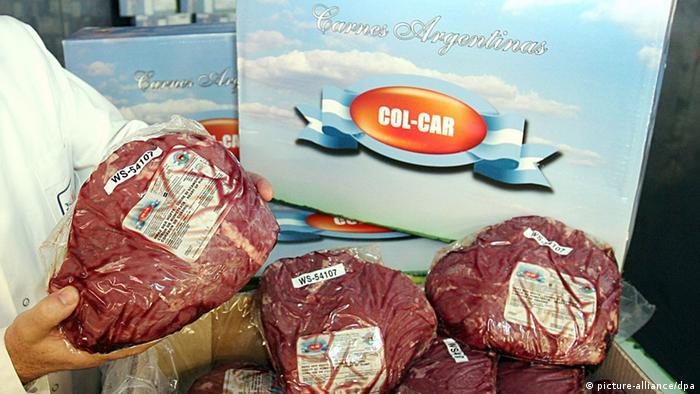 Carne argentina.