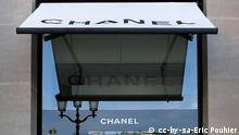 Frankreich Mode Coco Chanel Laden in Paris QUER