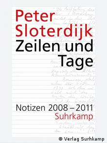 Cover des Buchs von Peter Sloterdijk Zeilen und Tage (Foto: Verlag Surhkamp)