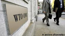 Welthandelsorganisation Sitz in Genf