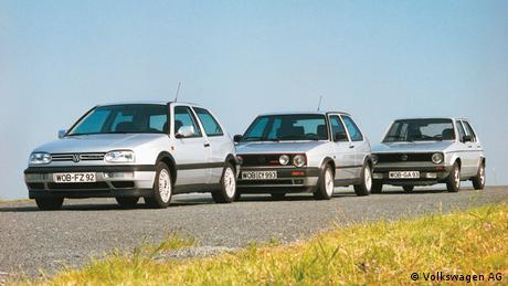 Bildergalerie VW Golf I bis III (Volkswagen AG)