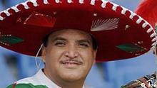 2. Spieltag Confederations Cup 2005: Japan - Mexiko, mekanischer Fan