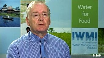 Portrait Colin Chartres, Chef des International Water Management Instituts IWMI. (Foto/Copyright: IWMI)
