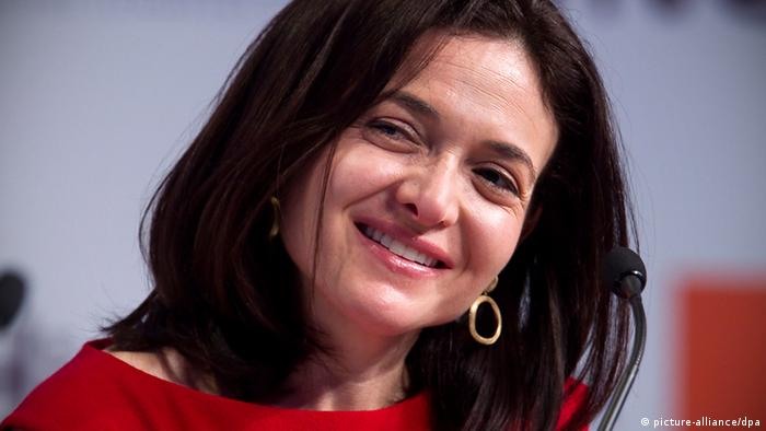 Sheryl Sandberg Facebook (picture-alliance/dpa)