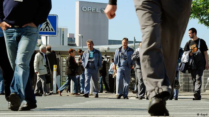 Завод Opel в Рюссельсхайме