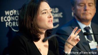 Facebook's Sheryl Sandberg at the World Economic Forum