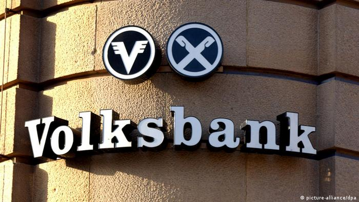 Volksbank Logo (picture-alliance/dpa)