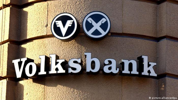 Volksbank Logo (picture-alliance/dpa)