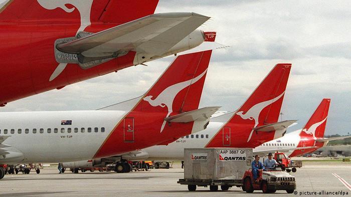 Australien Flugzeuge Quantas (picture-alliance/dpa)