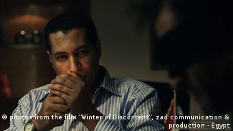 Filmszene: Adel (Salah al Hanafy) verhört Amr (Amr Waked) Foto: Zad Communication and Production aus Kairo *** eingestellt im August 2012