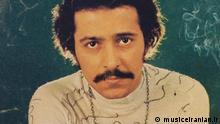 Farhad Mehrad, iranischer Liedemacher und Sänger (1943-2002)