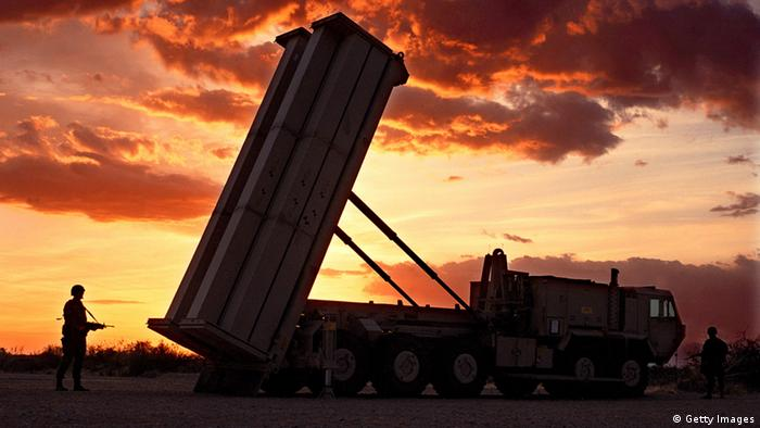 The Pentagon again postponed a key test of its troubled THAAD'''' anti-missile defense rocket, seen this file photo, due to a commercial power failure, the Defense Department said (Photo: Lockheed Martin)