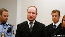Urteil gegen Breivik in Oslo