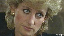 FILE -- In this Nov. 20, 1995 file photo, Princess Diana, seen in this television image, listens to a question during an interview taped earlier and aired on the BBC's program Panorama, in this Monday Nov. 20, 1995 file photo. Speaking quietly,the Princess says she desperately wanted her marriage to work and the problems of media pressure and her husband's infidelity caused her to escape in binges of eating and vomiting. Princess Diana would have been 50 years old on Friday, July 1, 2011, perhaps the only certainty about the course of a life abruptly cut short in a 1997 car crash in Paris, with a new boyfriend, two months past her 36th birthday. (Foto:BBC Panorama, file/AP/dapd) MANDATORY CREDIT NO SALES