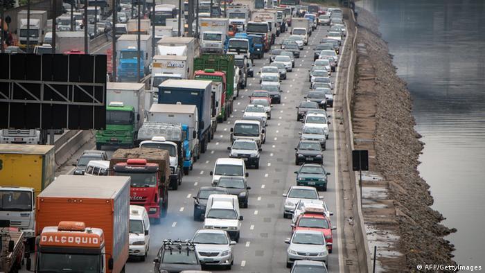 Autobahn in Brasilien