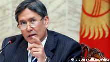 Kirgistan - Präsident Almasbek Atambajew