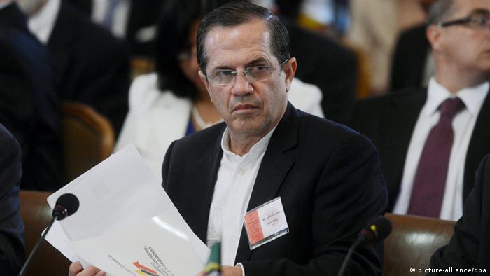 Ricardo Patiño, ministro ecuatoriano de Exteriores. (Archivo).
