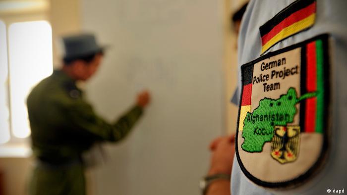 تیمی از پولیس های آلمانی، پروژه تعلیم و تربیت پولیس افغانستان را پیش می برند
