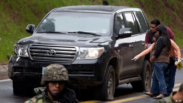 Mexiko Anschlag auf amerikanische Botschafter (AP)