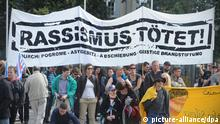 Gedenken Rostock 20 Jahre Krawall Rassismus Demonstration