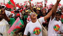 Wahl Angola UNITA Partei Protest