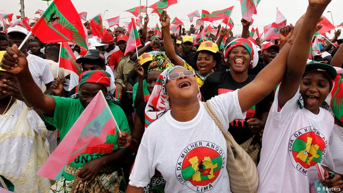 Protesto do partido oposicionista UNITA em Luanda, no último fim de semana