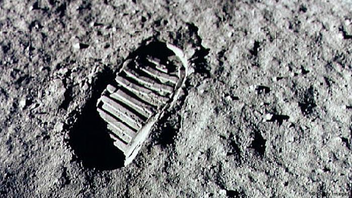 Neil Armstrong Fußabdruck