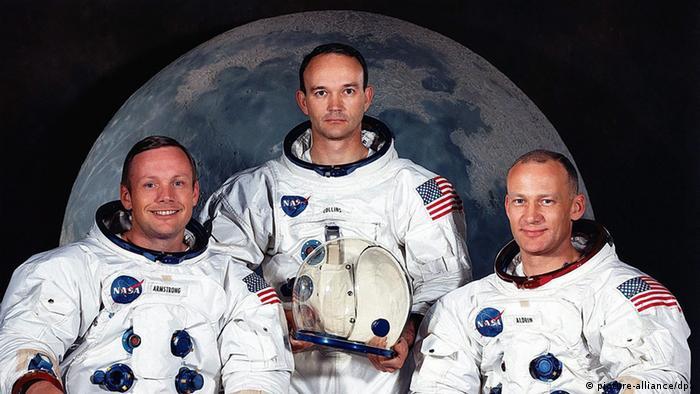Ekipa misije Apollo 11: Neil Armstrong, Michael Collins i Buzz Aldrin (picture-alliance/dpa)