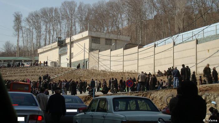 Evin Gefängnis in Teheran im Iran (kaleme)