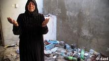 Syrien Rebellen Soldaten Atarib Verwüstung Zerstörung