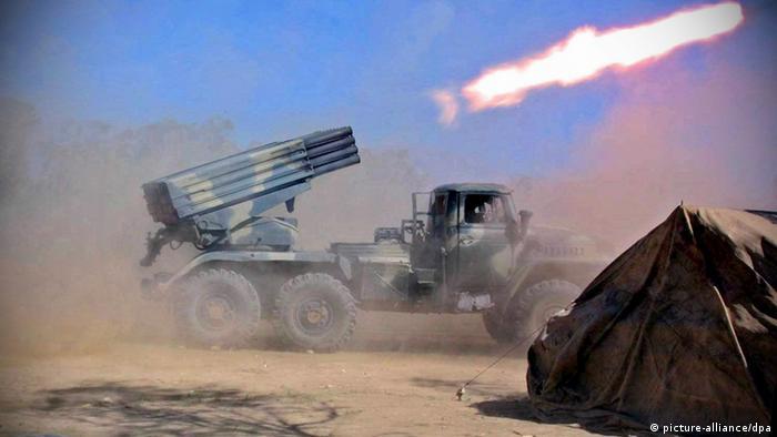 Afghanistan Taliban Kapiso Kabul BM 21 Rakete Opposition