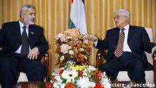 Mahmoud Abbas Ismail Hanija Palästina