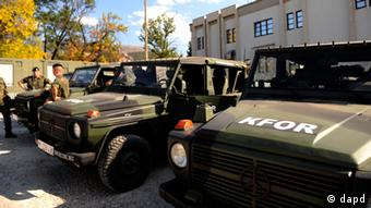 NATO vehicles (photo: Steffi Loos/dapd)