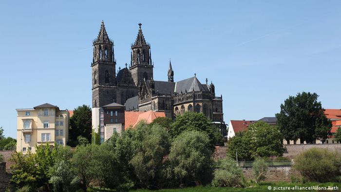 Der Dom zu Magdeburg St. Mauritius und Katharina (picture-alliance/Alfons Rath)