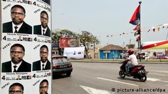 Poster de Eduardo Kwangana, candidato do PRS