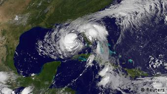 Tropical Storm Isaac is seen in the Gulf of Mexico in this NOAA handout satellite image REUTERS/NASA/NOAA/GOES Project/Handout