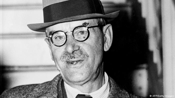 Porträt Thomas Mann. Foto: AFP